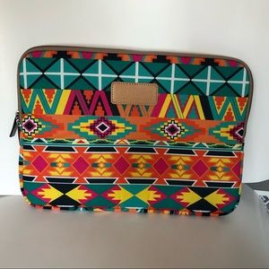 "13"" Multicolor Boho Laptop Sleeve Case Bag"